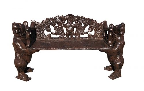 Bear bench