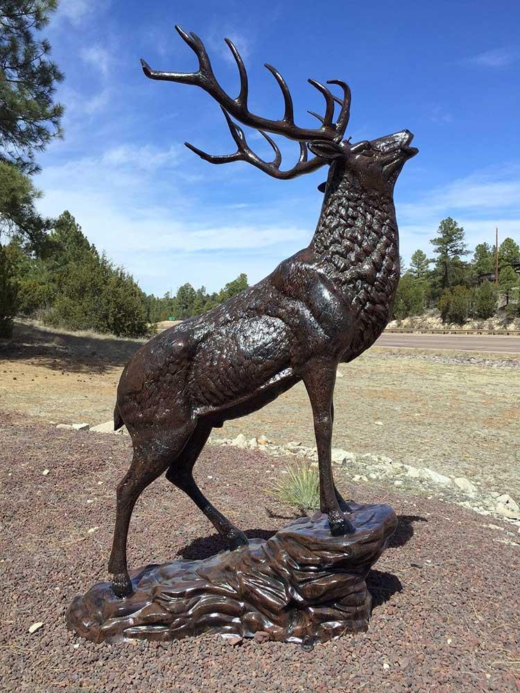 Elk Yard Sculpture