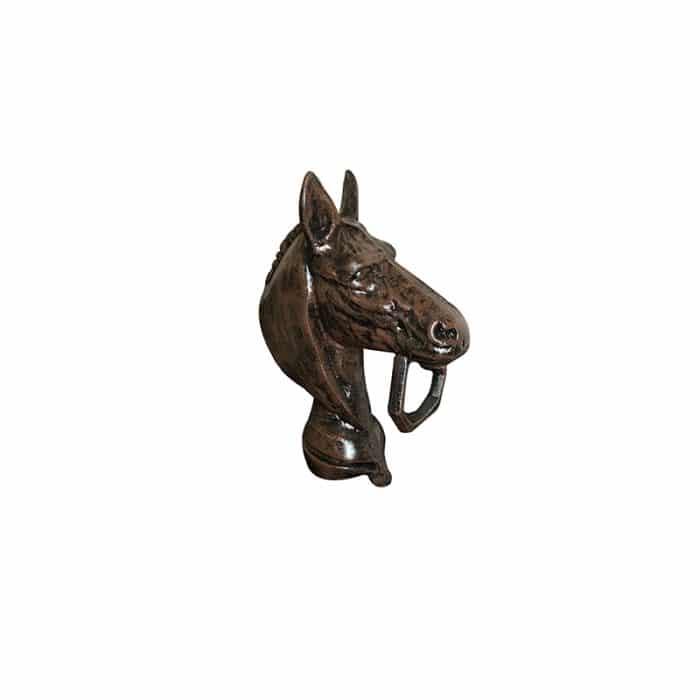 Triple crown horse head